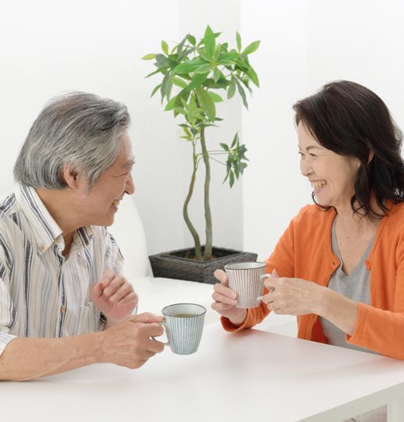 日本茶を飲むように休み、休みのんびりと続けましょう