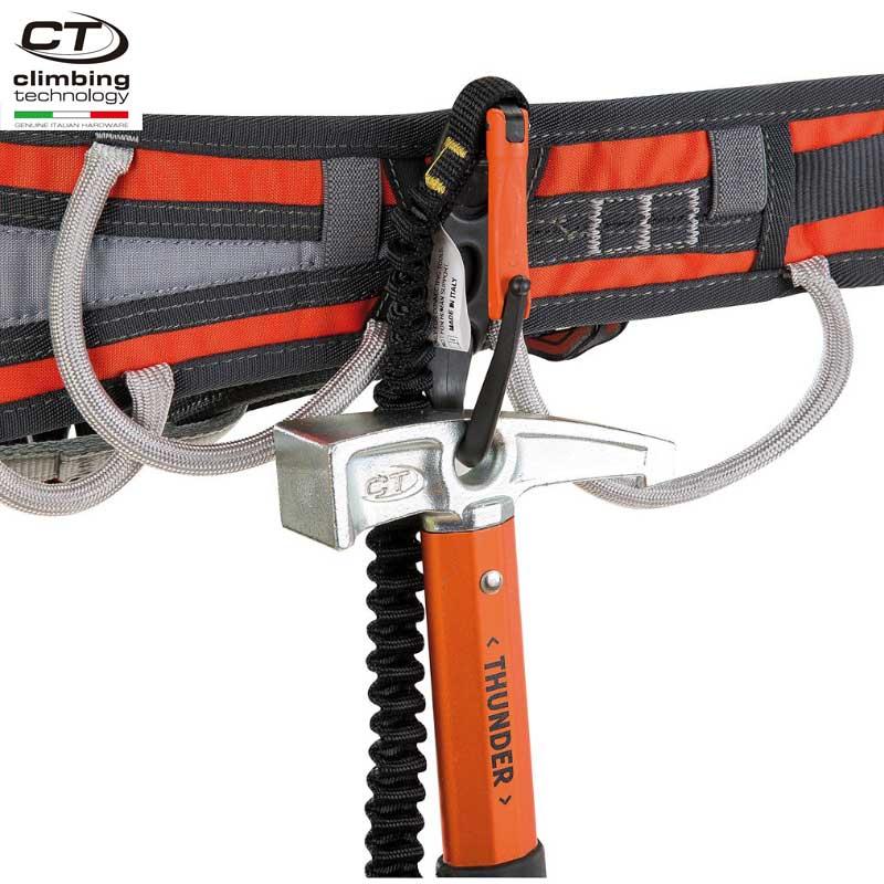 クライミングテクノロジー(climbing technology)(イタリア) ハーネスアクセサリー 「ハンマーロッジ」 HAMMER LODGE 【6V520】 | 軽量 カラビナ ストレートゲート