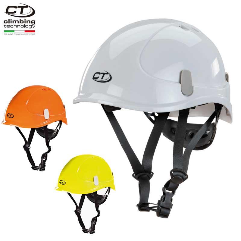 クライミングテクノロジー(climbing technology)(イタリア) 産業用ヘルメット 「X-ワーク」 X-WORK 【6X94401】   アーボリスト 建設 高所作業 バイザー取り付け可能