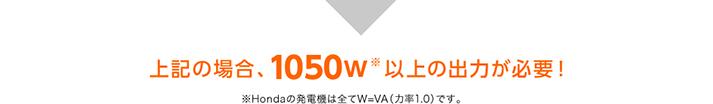 家電製品の消費電力と起動電力の目安
