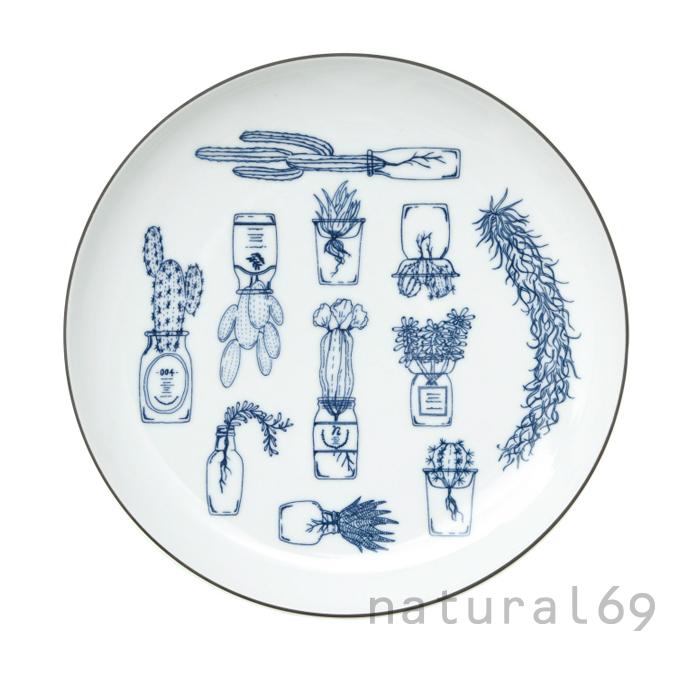 波佐見焼 北欧食器 和食器 おしゃれ natural69 TANIKU プレートL