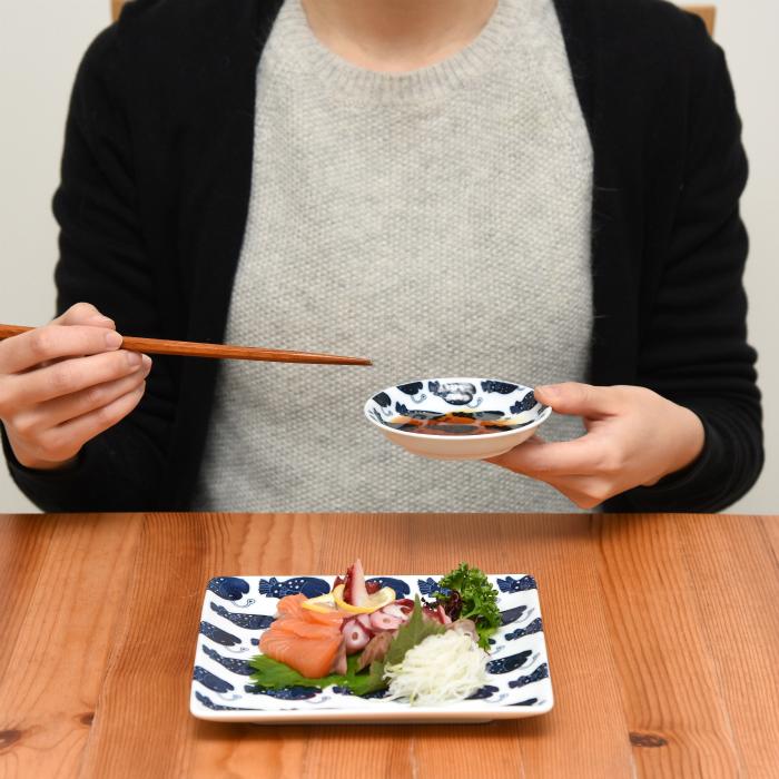 波佐見焼 北欧食器 和食器 おしゃれ natural69 cocomarine×Janke 豆皿 手持ち