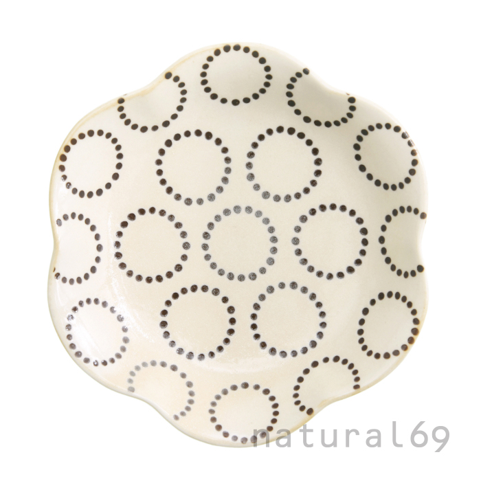 波佐見焼 北欧食器 和食器 おしゃれ natural69 粉引釉 取皿