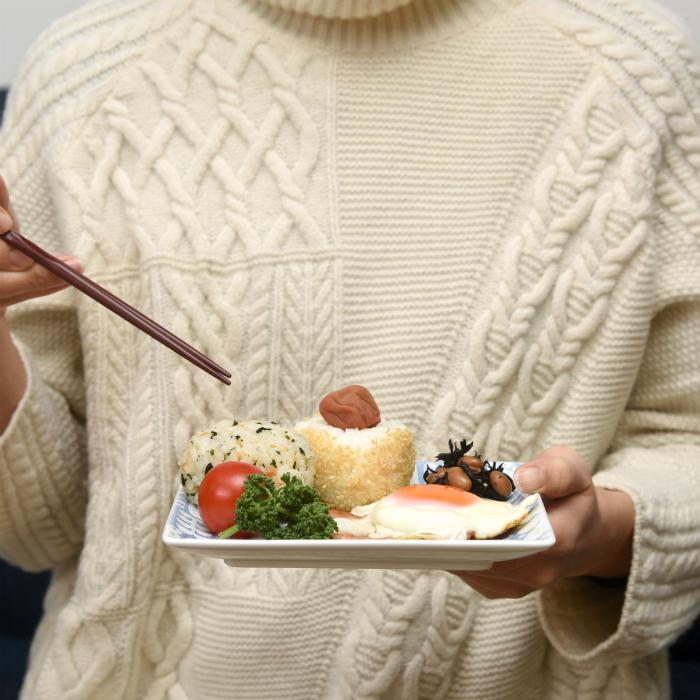 波佐見焼 北欧食器 和食器 おしゃれ natural69 Utopia 正角皿 手持ち