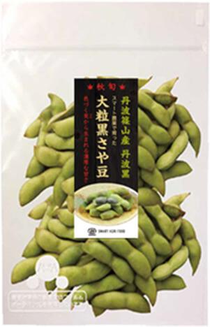 大粒黒さや豆の商品イメージ