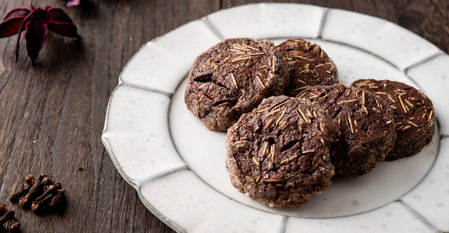 スパイス×ショコラ さくさくスパイスクッキー