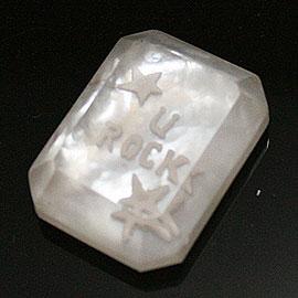 天然石ロゴ彫刻加工[Tesoro]