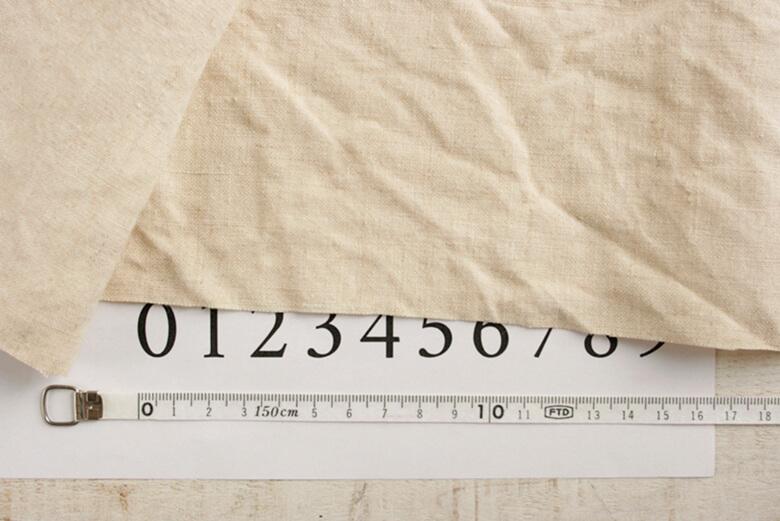 ヘンプ14番手生成りワイド幅 Hemp7060-W