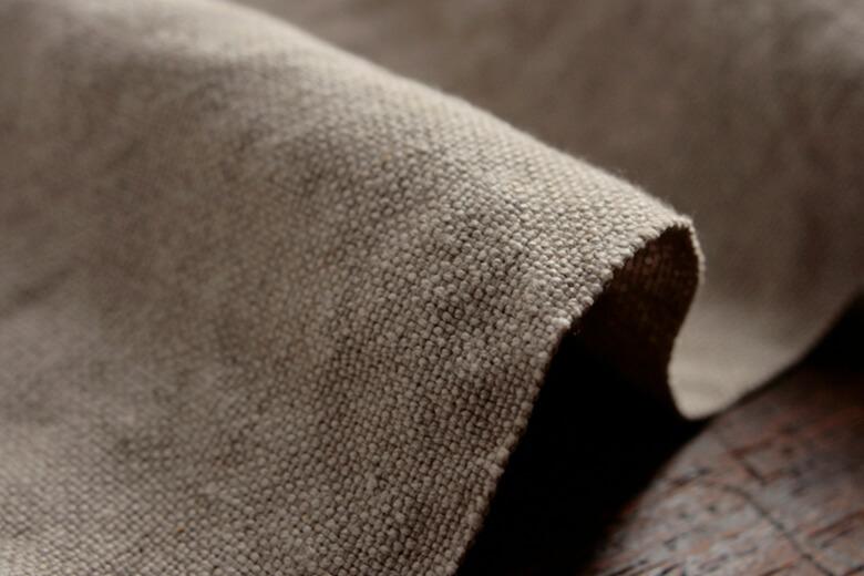 リネン100%帆布(はんぷ)ワイド幅ダブルウォッシュ L253-w