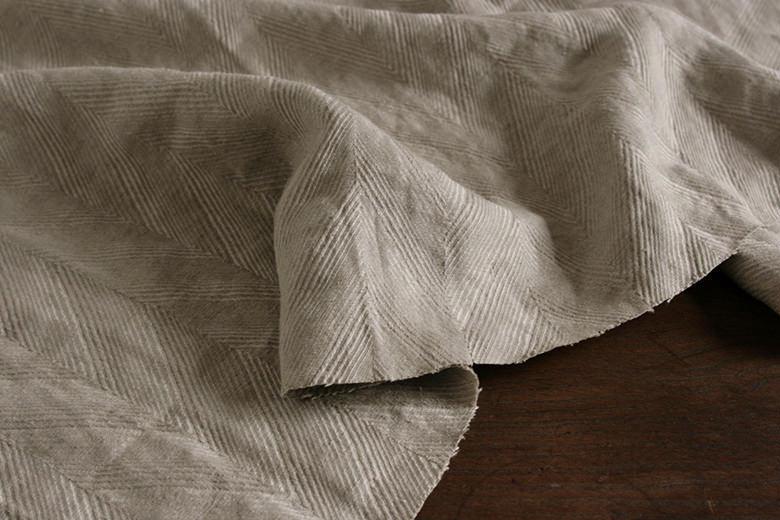 ジャガード織 ヘリンボーン