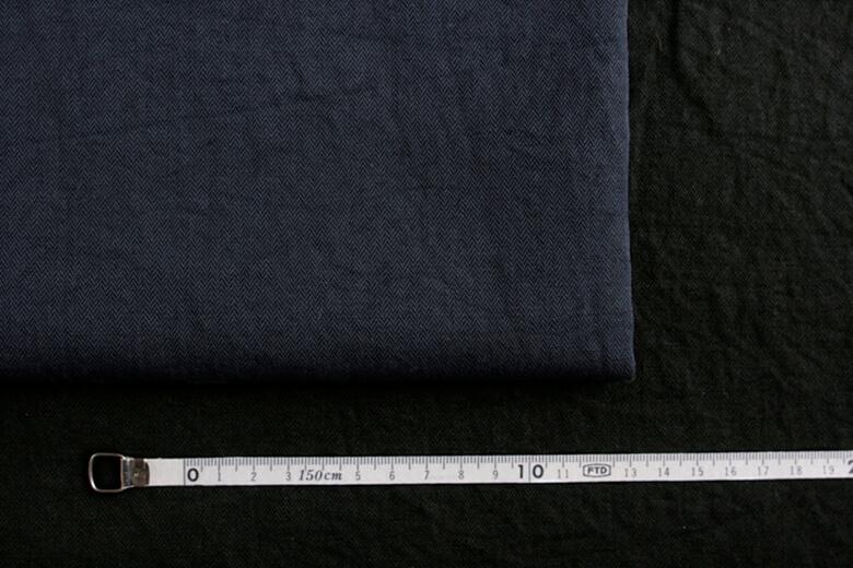 fanage(天日干し)綿麻ヘリンボーン LC-HB3/2