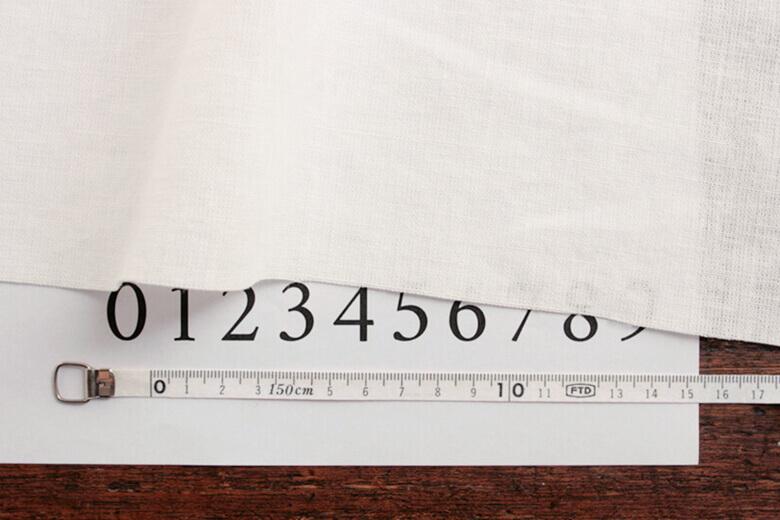 ラミーリネンワイド幅ホワイト T3087W-WH