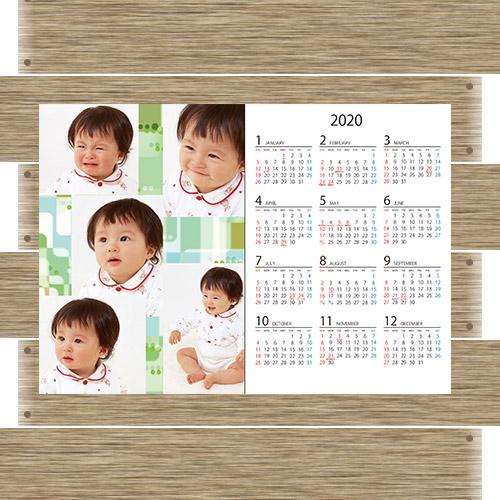 ポスター型カレンダー縦/横