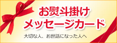 お熨斗 メッセージカード