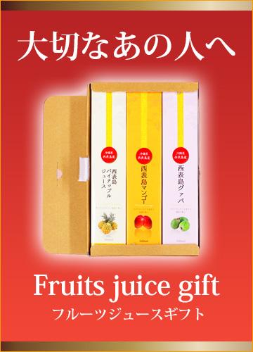 ギフトにもおすすめ トロピカルフルーツジュースセット