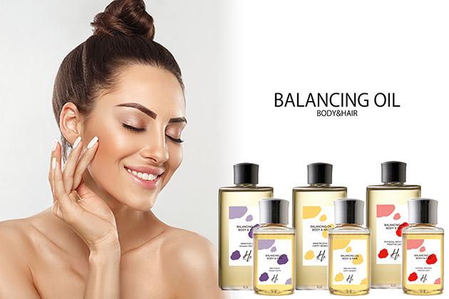 香水仕立ての保湿オイル バランシング オイル ボディ&ヘア