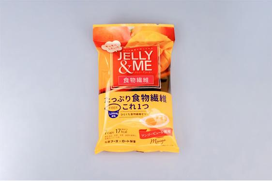 JELLY&ME(ジェリー&ミー) 食物繊維マンゴーゼリー(7個入)[JM-M]