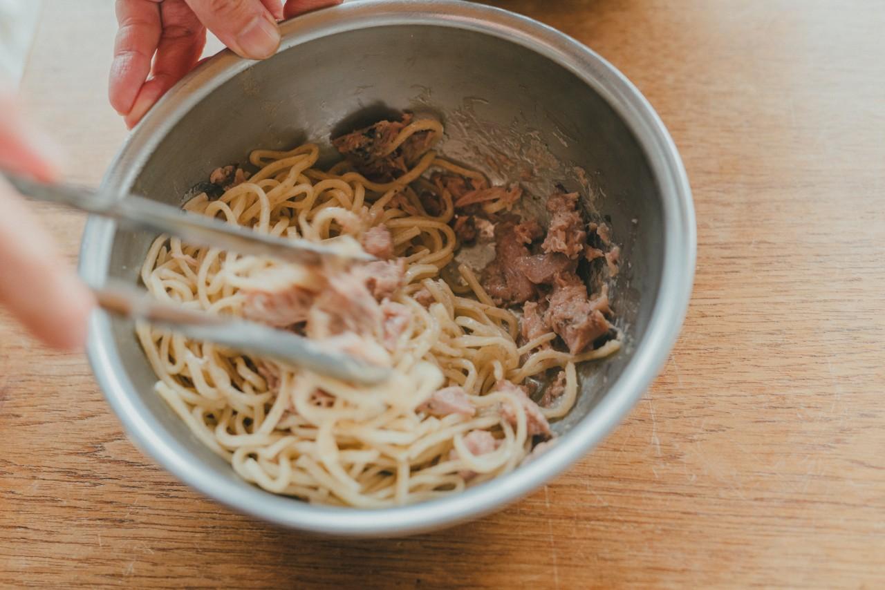 レシピ:トロプレミアムの和風パスタ