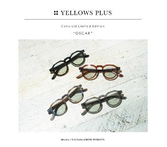 "YELLOWS PLUS Celluloid Limited Edition""OSCAR"""