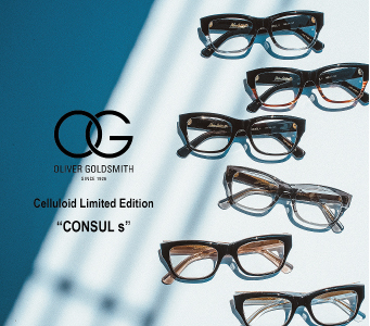 """OLIVER GOLDSMITH Celluloid Limited Edition""""CONSULs"""""""