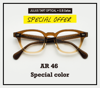 JULIUS TART OPTICAL SPECIAL COLOR NEW RELEASE