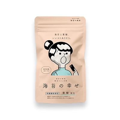 海苔の幸せ 1袋 518円(税込)