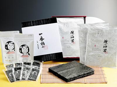 有明一番摘み焼海苔 / 海苔の瞳3,000円ギフトセット