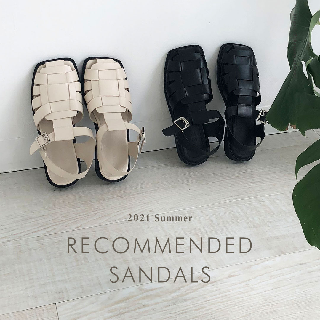 RECOMMENDED SANDALS