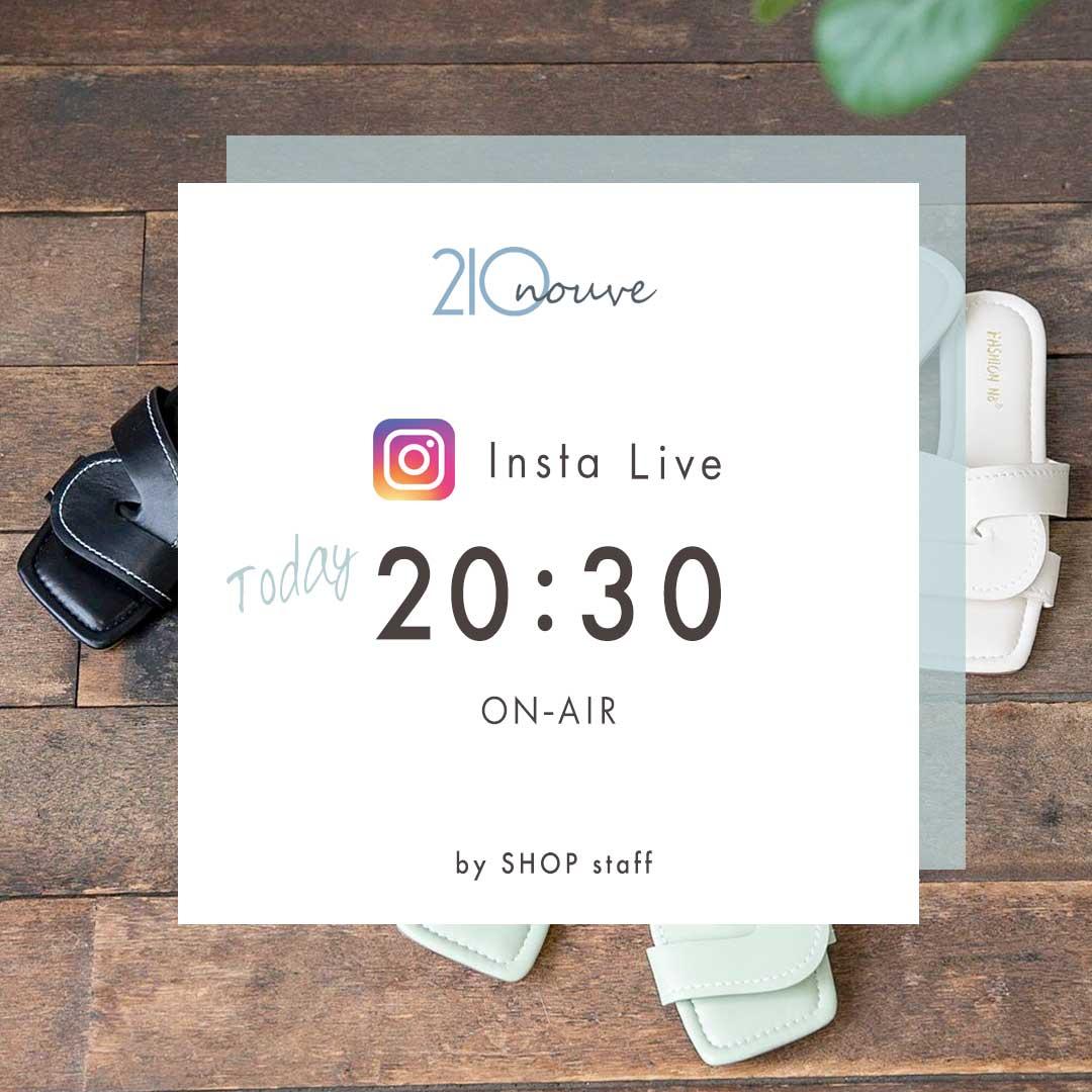 Insta Live @210nouve_online