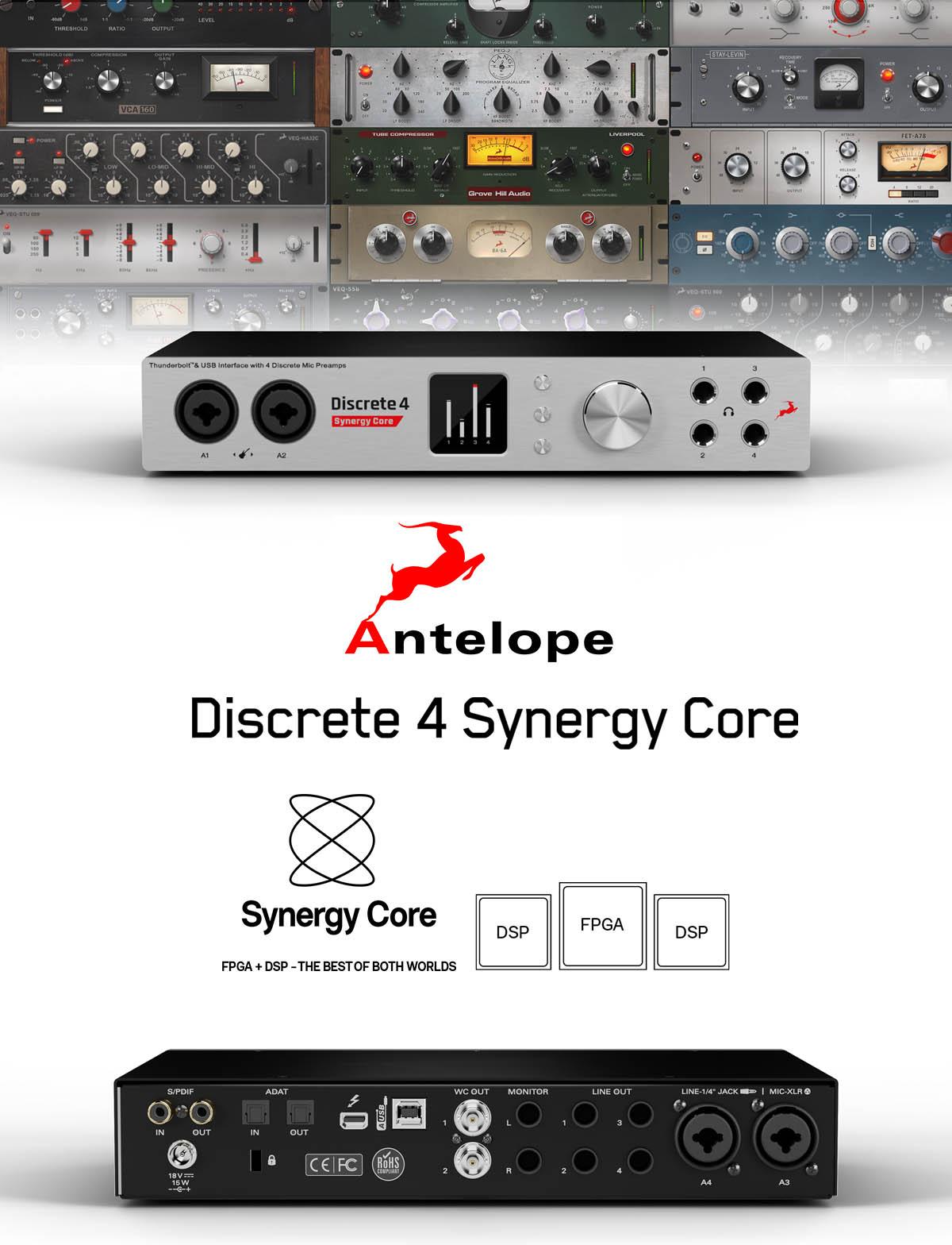 Discrete 4 Synergy Core