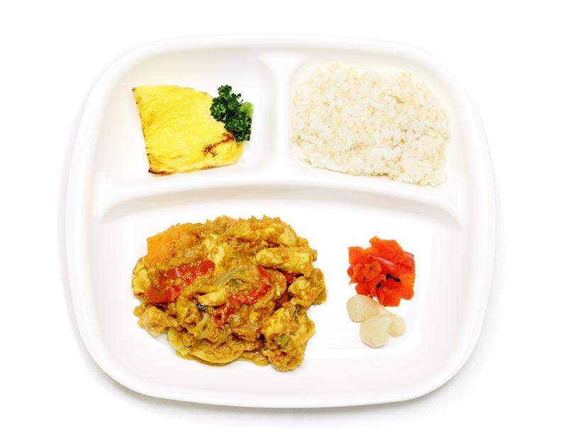 鶏むね肉の野菜カレー