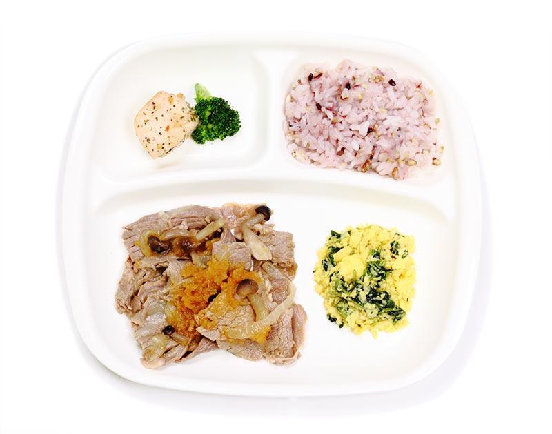 牛肉のおろし焼肉弁当