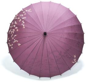 雨傘をご使用になられた後のお手入れ