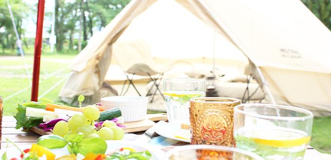 豪華なテントの写真