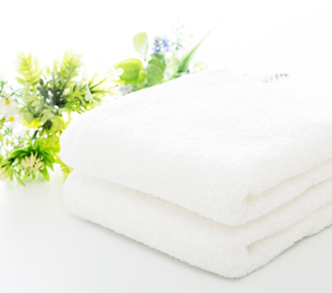 畳んだタオル