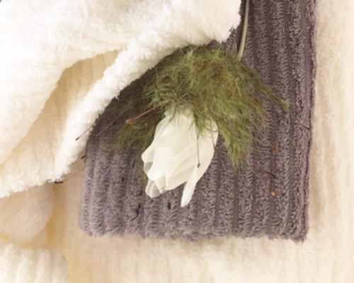 ブリーズブロンズのタオルの写真