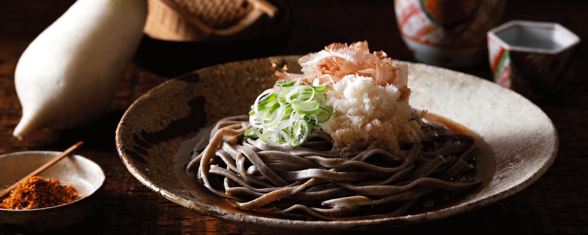 〈麺匠武生〉越前本流 八割そば (8番麺線)生麺3食・具材付き