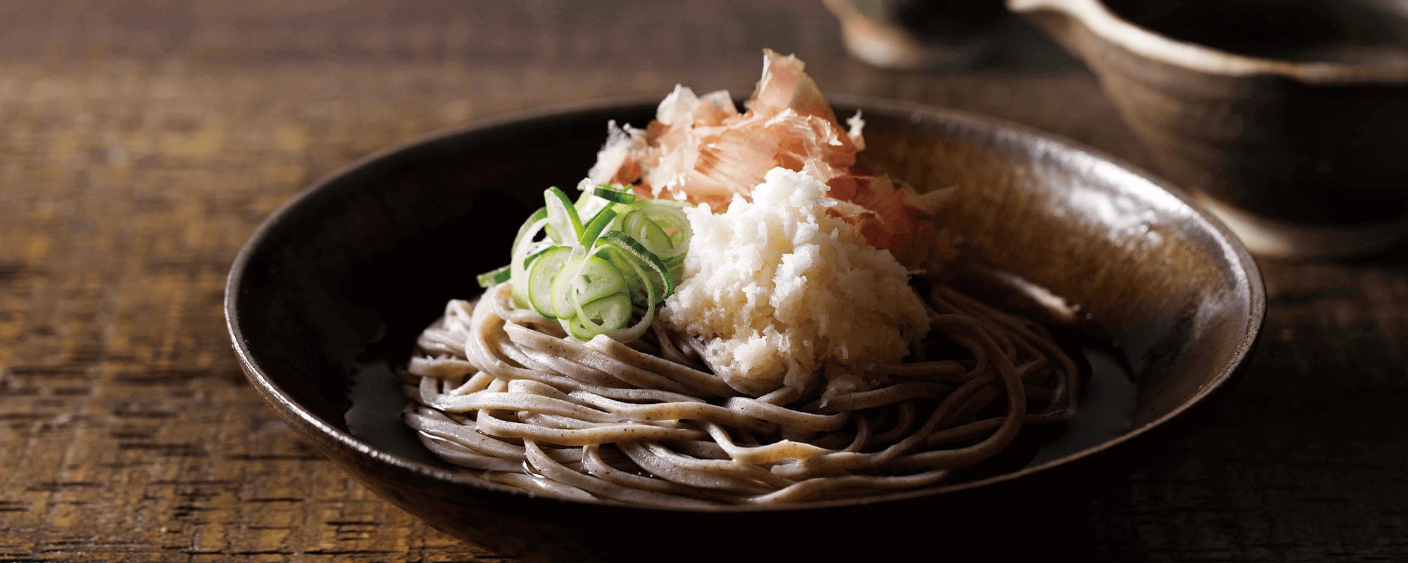 [麺匠武生]のどごし 五割そば(12番麺線)生麺4食