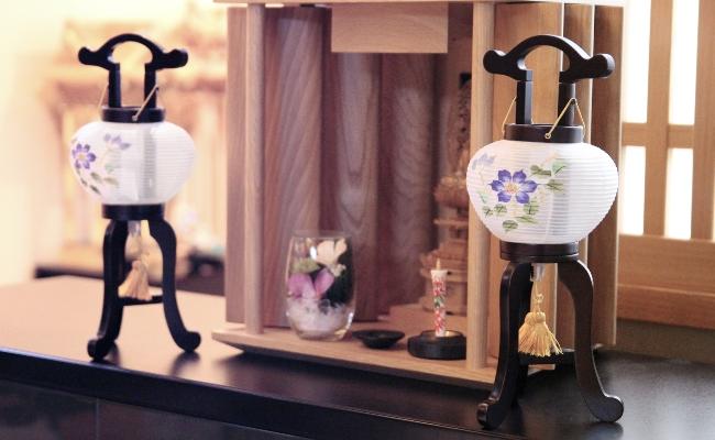 上置き仏壇に合うプチ・ミニ行灯