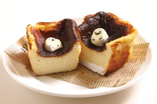 チーズ3種類を贅沢に使用! 濃厚バスクチーズケーキ