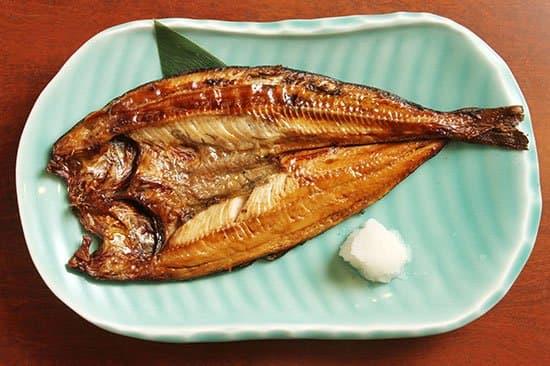 真ほっけ魚醤漬け炭火焼き