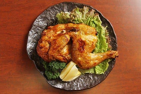 オホーツク産若鶏半身炙り焼き