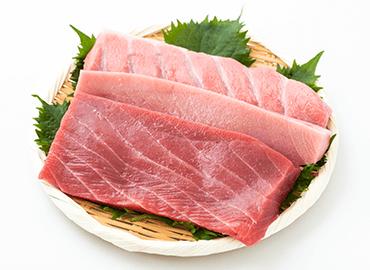 食べくらべセット(中トロ・赤身・大トロ 各250g)