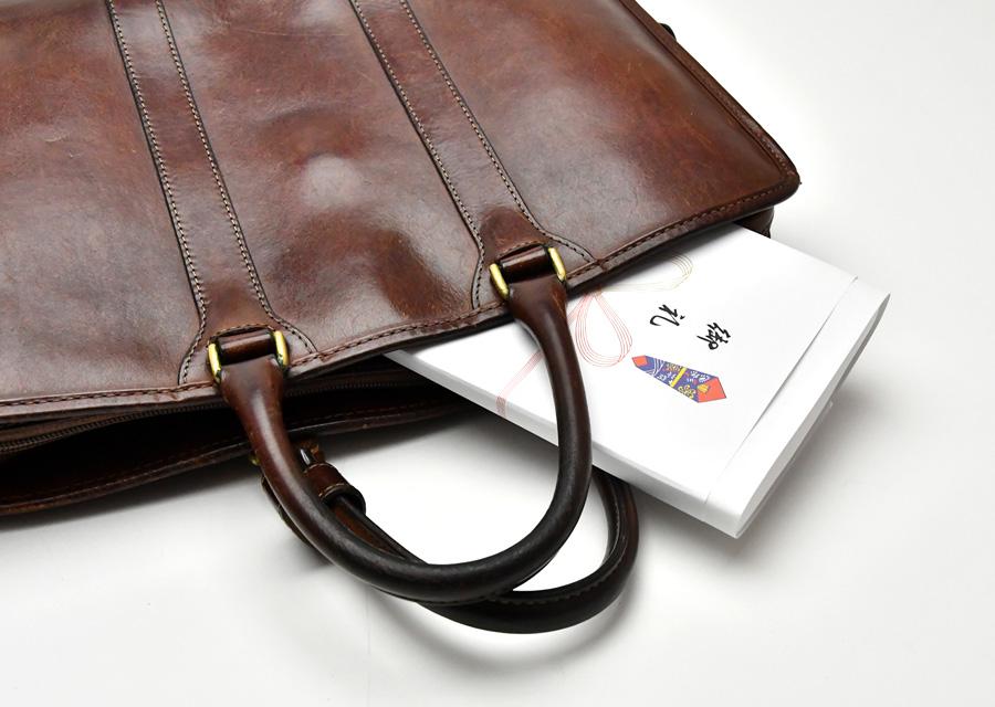 ビジネスバッグに入れられるサイズ