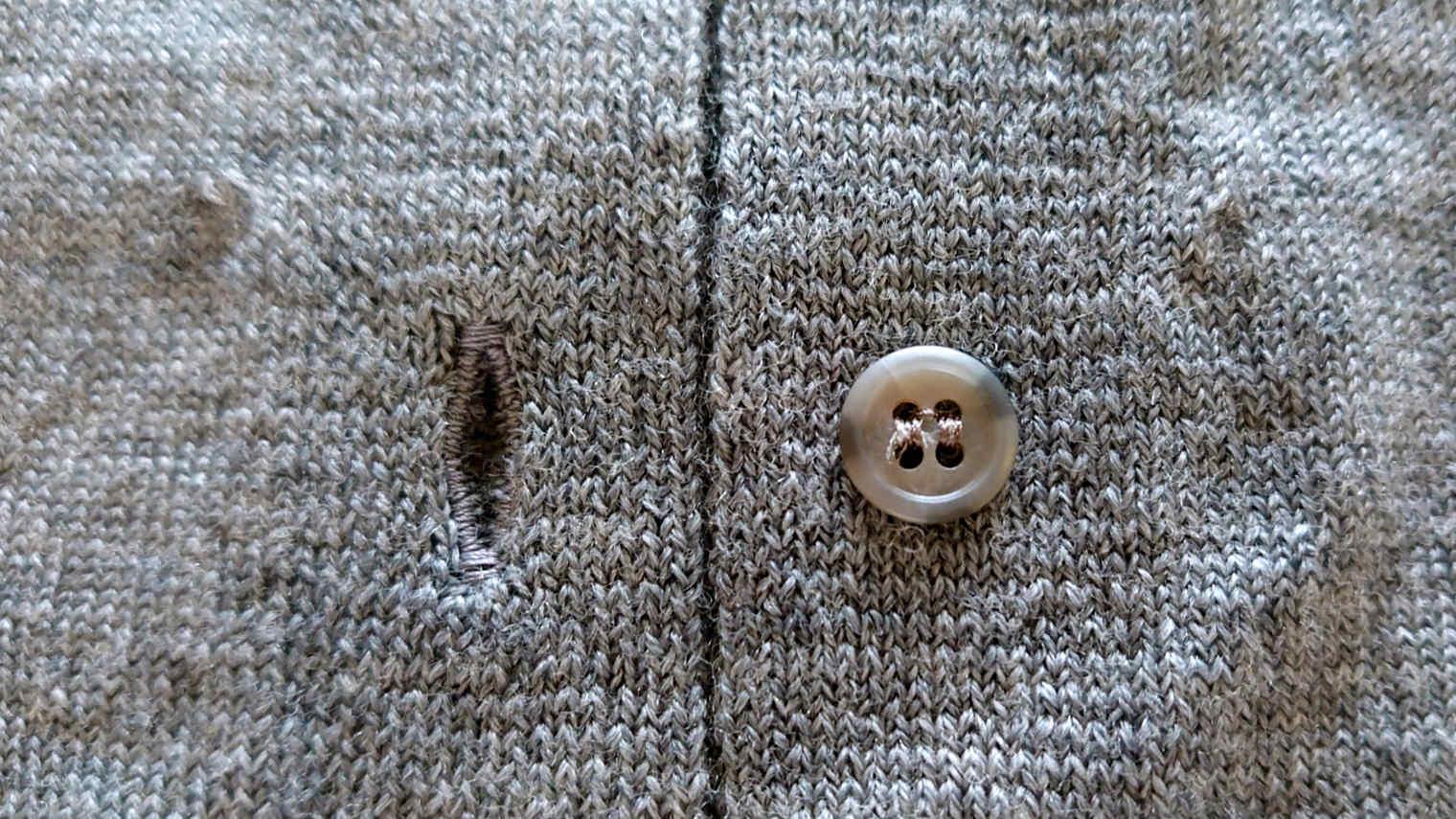 からだをつつむ ロングカーディガン 洗濯機で洗えるウール 深いポケット付き