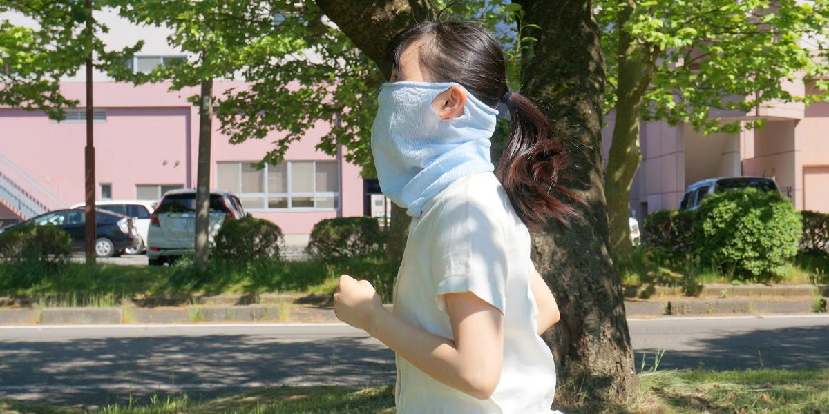 かおをつつむ てをつつむ ウイルス対策 コロナウイルス マスク フェイスマスク ハンドカバー