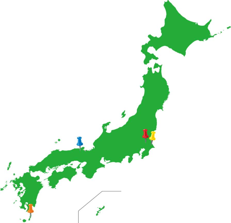 芋産地マップ