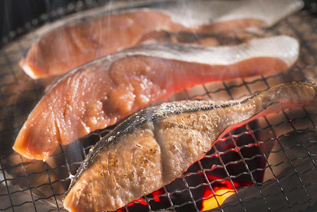 塩鮭熟成切身2切(120g)