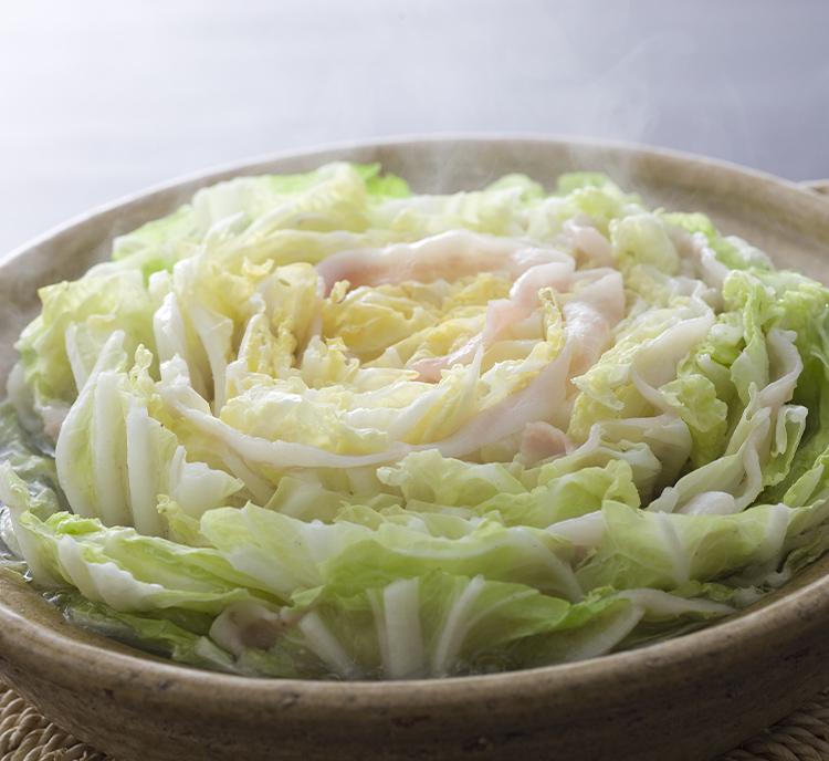 白菜と豚肉のさっぱり鍋