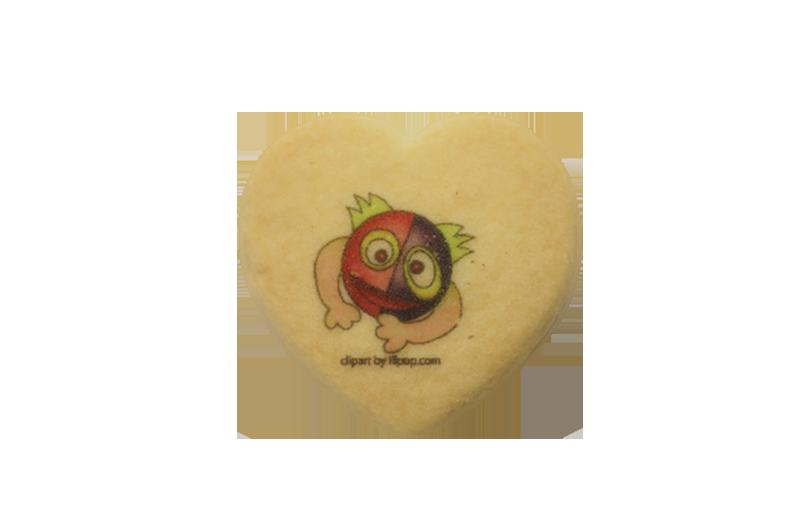 クッキーハート型